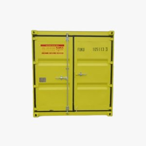 10' Dangerous Goods Container (Yellow)