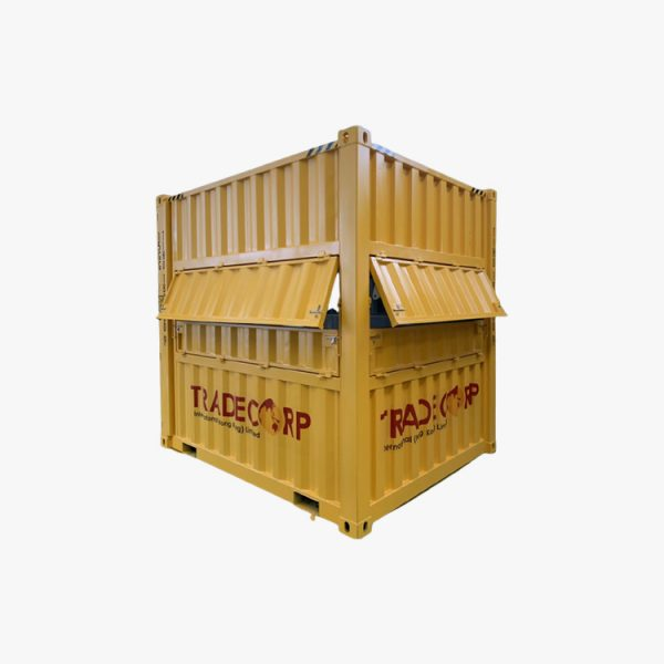 10' High Cube Cafe Container (Yellow)
