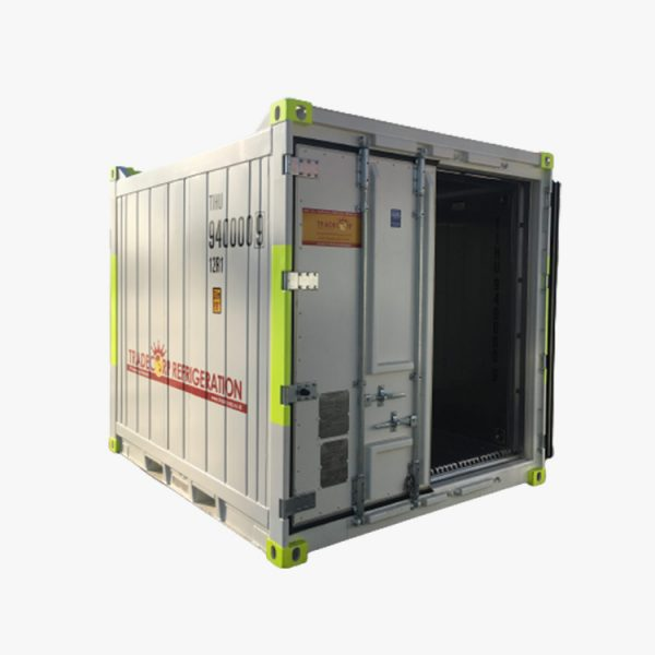 10' Refrigerated DNV Shipping Container (White)
