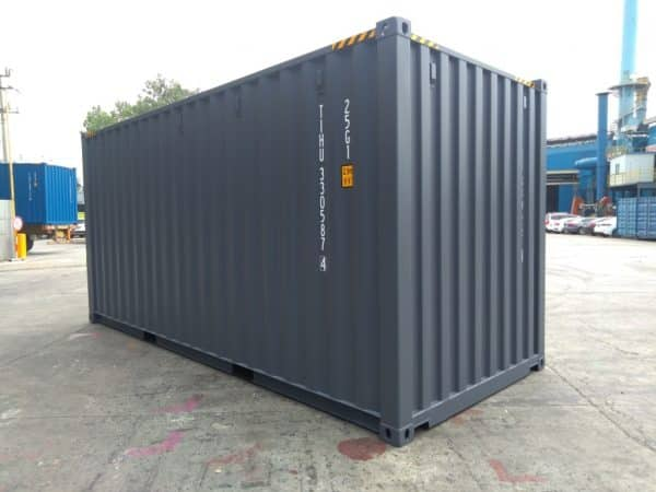 20′ HIGH CUBE EASY OPENING DOOR SHIPPING CONTAINER (Slate Grey)2