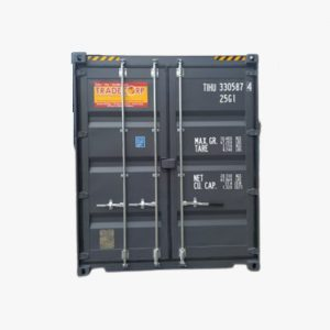 20′ High Cube Easy Opening Door Shipping Container (Slate Grey)