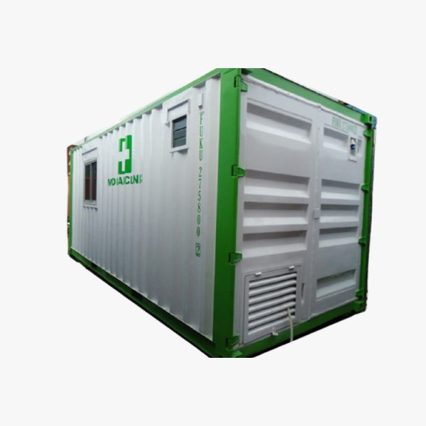 20' Clinic Container (White Green)