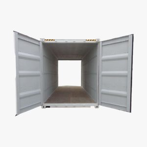20' DOUBLE DOOR HIGH CUBE (PUTIH)