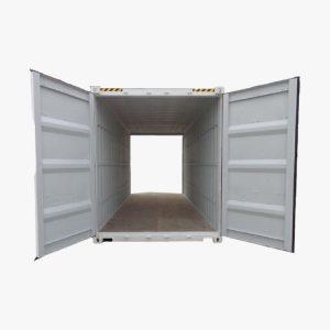 20' Double Door High Cube (Putih)