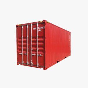 20' Double Door High Cube (Red)