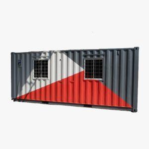 20' Drug Store Container Indonesia