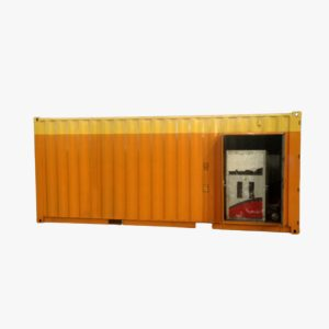 20' Fuel Storage Tank Single Side Dispenser
