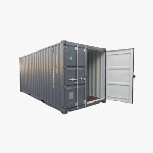20' General Purpose Shipping Container (Dark Grey)