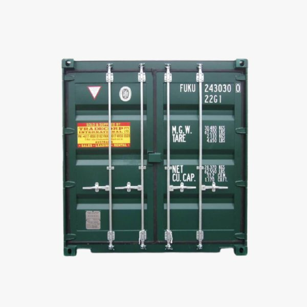 20' General Purpose Shipping Container (Moss Green)
