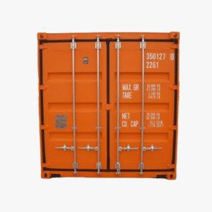 20' General Purpose Shipping Container (Orange)