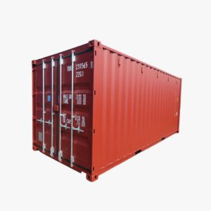 20' General Purpose Shipping Container (Oxide Red)