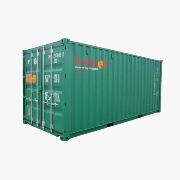 20' General Purpose Shipping Container (Pine Green)