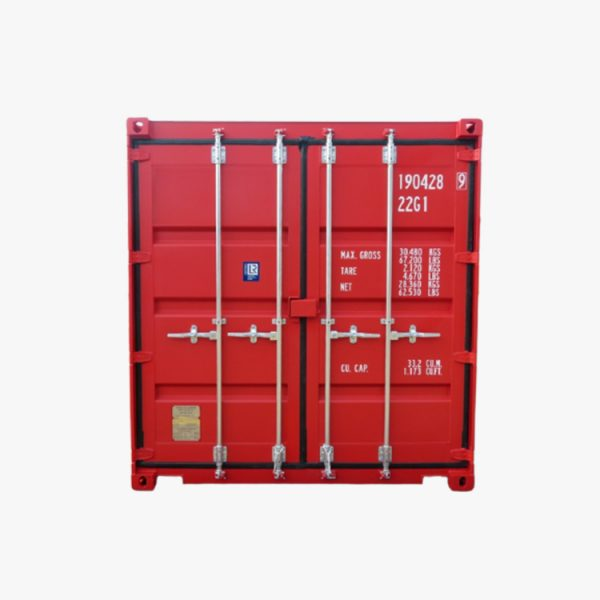 20' General Purpose Shipping Container (Red)