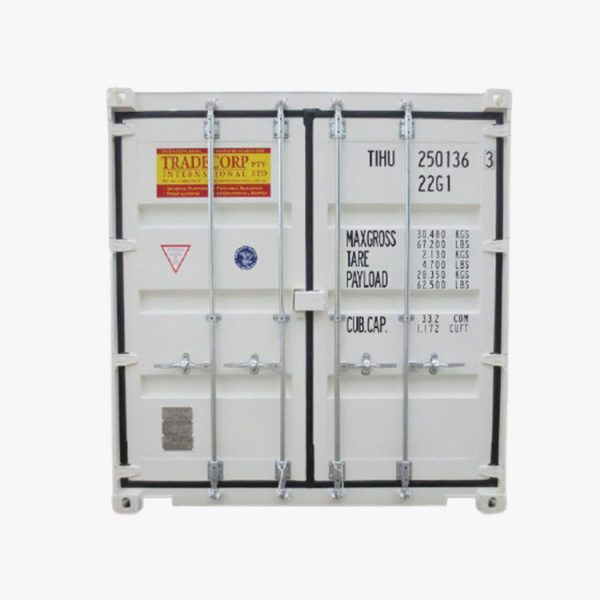 20' General Purpose Shipping Container (White)
