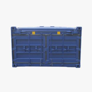 20' Half Height Hard Top Container (Blue)