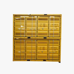 20' High Cube Side Opening Dangerous Goods Container (Yellow)