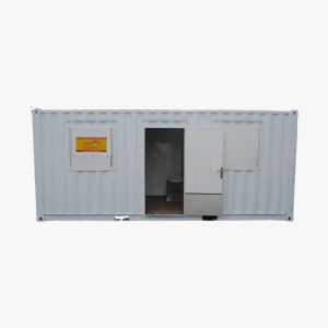 20' Office Shipping Container (White)