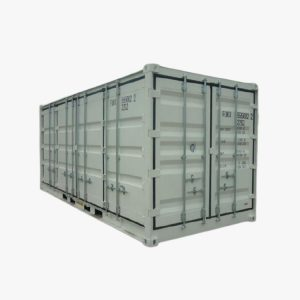 20' Side Opening Shipping Container