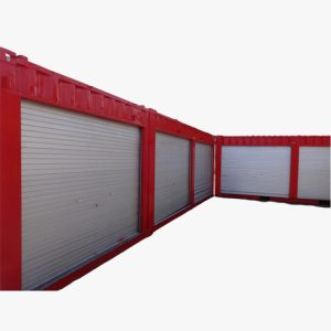 20' Storage Container With Rolling Door
