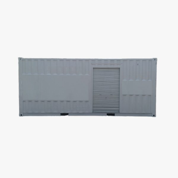20' Workshop Storage Container (White)