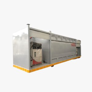 40' Fuel Storage Tank Container With Double Dispenser