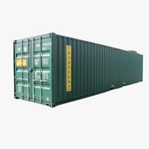 40' General Purpose Shipping Container (Pine Green)
