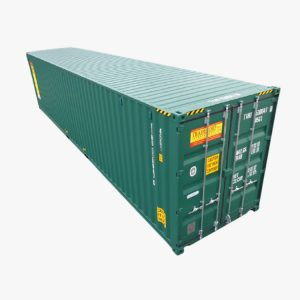 40' High Cube Shipping Container