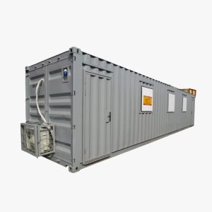 40' Office Container (Grey)