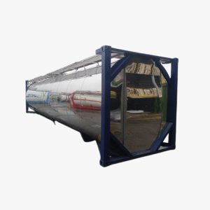 40' Tank Container (Chrome)