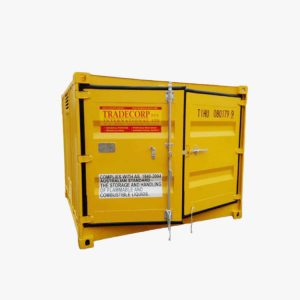 8' Dangerous Goods Container (Yellow)