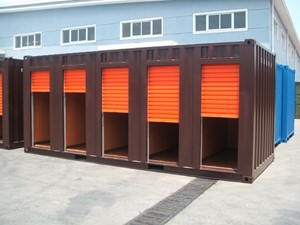 20' Storage Sliding Door Unit