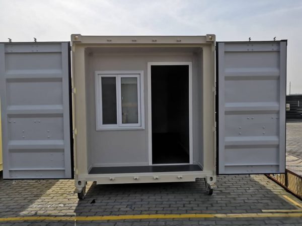 20' Office Fully Enclosed