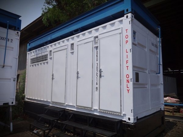20' Toilet Container