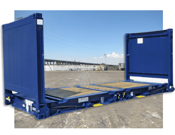 jual container flat rack